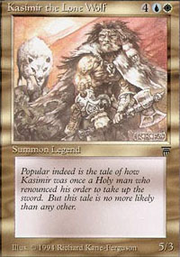 Kasimir the Lone Wolf - Legends