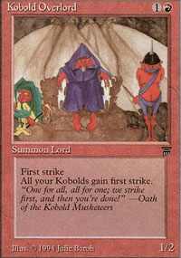 Kobold Overlord - Legends