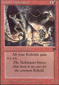 Kobold Taskmaster - Legends