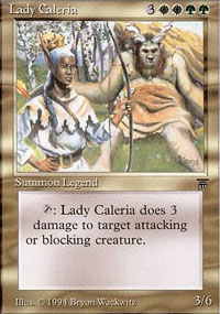 Lady Caleria - Legends