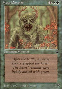 Moss Monster - Legends