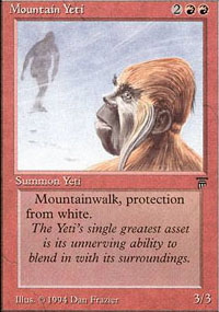 Mountain Yeti - Legends