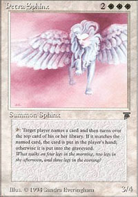 Petra Sphinx - Legends