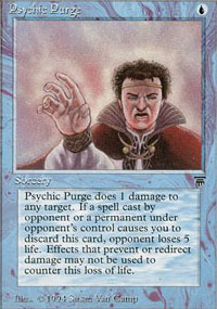 Psychic Purge - Legends