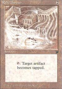 Relic Barrier - Legends