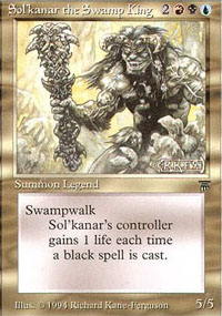 Sol'kanar the Swamp King - Legends