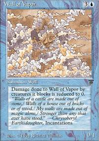 Wall of Vapor - Legends