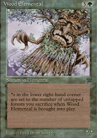 Wood Elemental - Legends