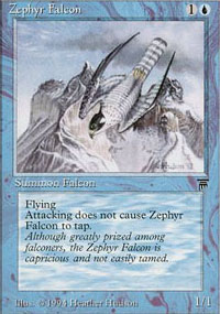 Zephyr Falcon - Legends