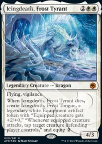 Icingdeath, Frost Tyrant - D&D Forgotten Realms - Ampersand Promos