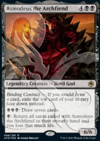 Asmodeus the Archfiend - D&D Forgotten Realms - Ampersand Promos