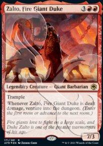 Zalto, Fire Giant Duke - D&D Forgotten Realms - Ampersand Promos