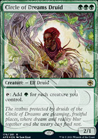 Circle of Dreams Druid - D&D Forgotten Realms - Ampersand Promos