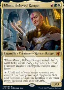 Minsc, Beloved Ranger - D&D Forgotten Realms - Ampersand Promos