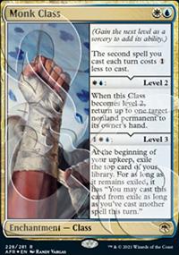 Monk Class - D&D Forgotten Realms - Ampersand Promos