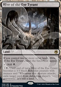 Hive of the Eye Tyrant - D&D Forgotten Realms - Ampersand Promos