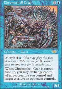 Chromeshell Crab - Legions