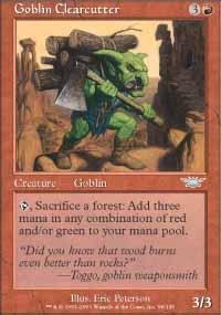 Goblin Clearcutter - Legions