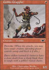 Goblin Grappler - Legions