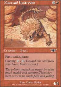 Macetail Hystrodon - Legions