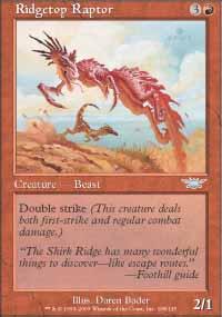 Ridgetop Raptor - Legions