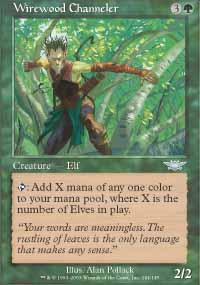 Wirewood Channeler - Legions