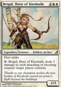 Brigid, Hero of Kinsbaile - Lorwyn