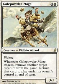 Galepowder Mage - Lorwyn