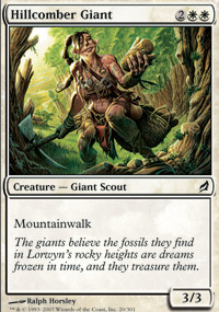Hillcomber Giant - Lorwyn