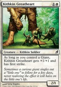 Kithkin Greatheart - Lorwyn