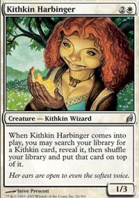 Kithkin Harbinger - Lorwyn