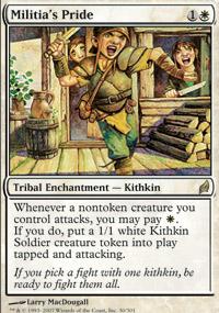 Militia's Pride - Lorwyn