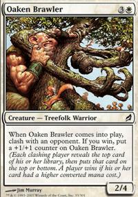 Oaken Brawler - Lorwyn