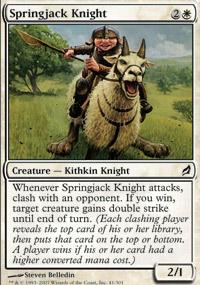 Springjack Knight - Lorwyn