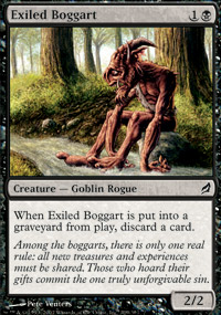 Exiled Boggart - Lorwyn