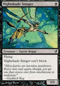 Nightshade Stinger - Lorwyn