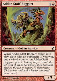 Adder-Staff Boggart - Lorwyn
