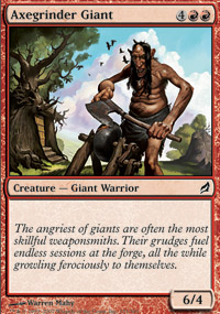 Axegrinder Giant - Lorwyn