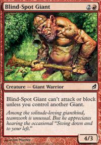 Blind-Spot Giant - Lorwyn