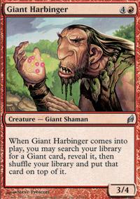 Giant Harbinger - Lorwyn