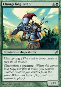 Changeling Titan - Lorwyn