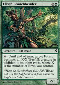Elvish Branchbender - Lorwyn