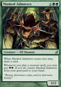 Masked Admirers - Lorwyn