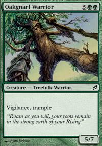 Oakgnarl Warrior - Lorwyn