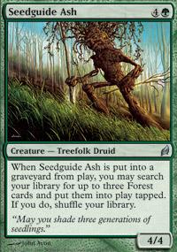 Seedguide Ash - Lorwyn