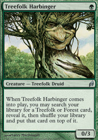 Treefolk Harbinger - Lorwyn