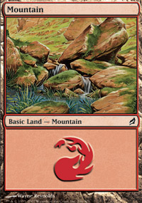 Mountain 3 - Lorwyn