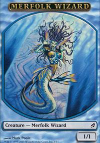 Merfolk Wizard - Lorwyn