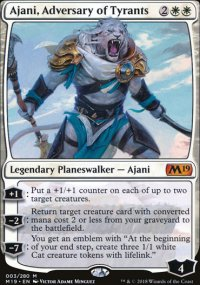 Ajani, Adversary of Tyrants - Magic 2019