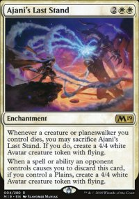 Ajani's Last Stand -